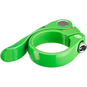 Reverse Long Life Seat Clamp Ø34,9mm, neon green